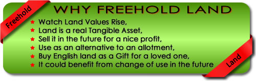 Buy freehold land - Gladwish Land Sales Limited